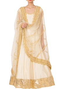 ivory-gold-silk-anarkali-set