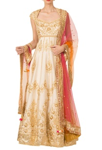 ivory-gota-patti-anarkali-set