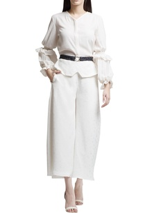 ivory-top-with-ruffle-sleeves
