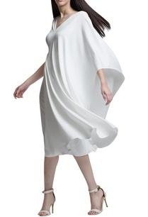 ivory-drape-dress