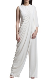 ivory-draped-sari-jumpsuit