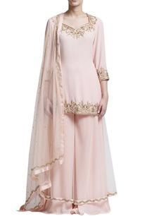 blush-pink-embroidered-sharara-set