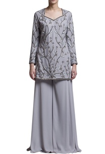 grey-embroidered-kurta-sharara-pants