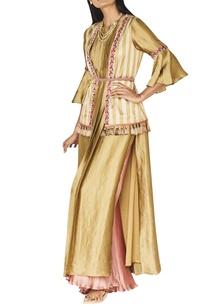 gold-blush-pink-kurta-set-with-turkish-waistband