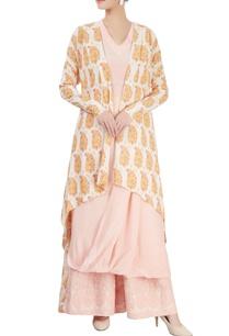 light-pink-kurta-set-with-a-jacket