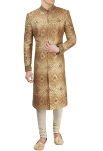 brown-ombre-sherwani