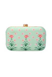 mint-green-floral-printed-clutch