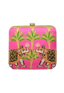 pink-embroidered-box-clutch