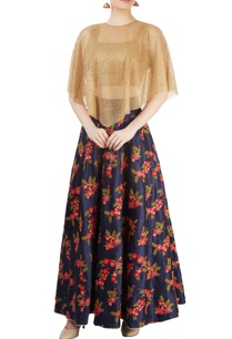 blue-gold-skirt-set-with-embroidery