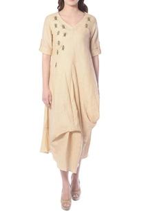 beige-draped-tunic