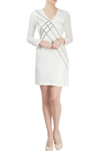 white-cutdana-embroidered-dress