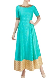 blue-anarkali-with-embroidery