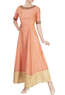peach-anarkali-with-embroidery