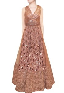 pink-gold-sequin-embellished-gown