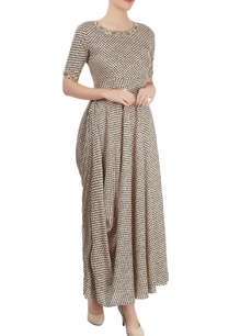 beige-black-printed-maxi-with-drape