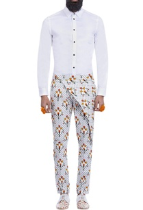 white-printed-trousers-with-a-flap