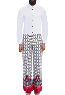 white-trousers-with-multi-colored-print
