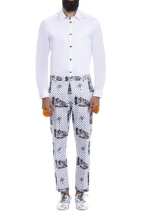 white-black-printed-trousers