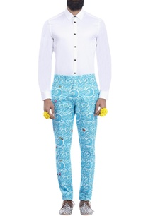 sky-blue-wave-print-trousers