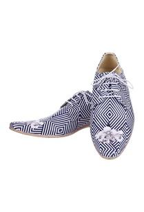 black-white-striped-shoes