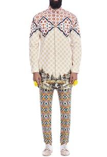 ivory-motif-printed-shirt