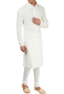 white-cotton-kurta