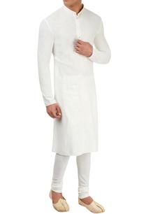 white-cotton-kurta