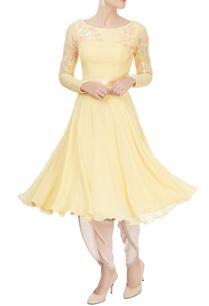 pale-yellow-embellished-kurta
