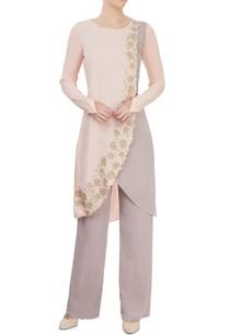 blush-pink-grey-kurta-with-trousers