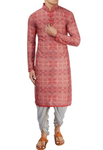 coral-red-printed-kurta
