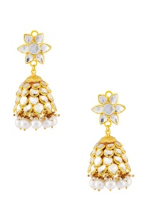 white-layered-earrings