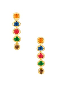 multicolored-layered-earrings