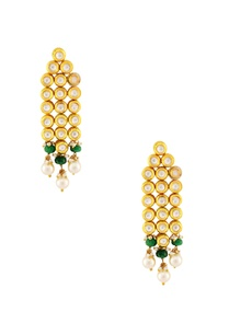 gold-linked-earrings