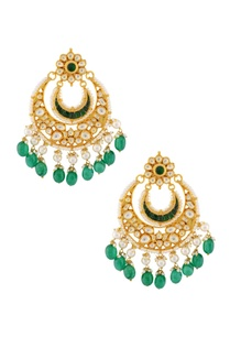 green-stones-and-kundans-earrings
