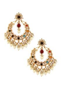 multicolored-stone-earrings