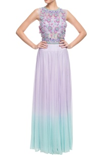 lilac-3d-floral-embroidered-skirt-set