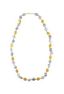 silver-gold-chained-necklace