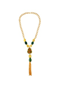 gold-green-necklace