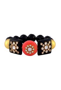 black-studded-bracelet
