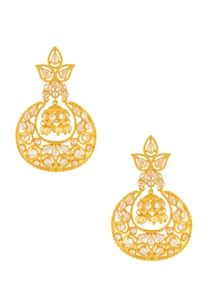 gold-beaded-earring