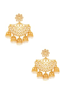 gold-earring-with-jhumkas