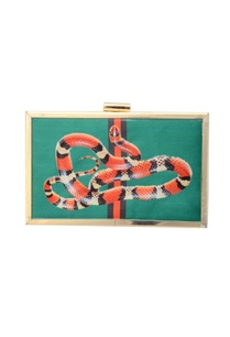 green-clutch-with-snake-print