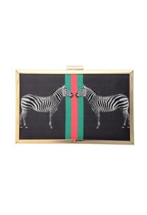 black-clutch-zebra-print