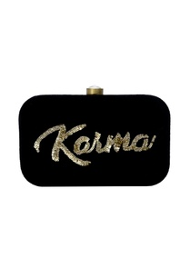 black-embroidered-clutch