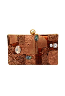 brown-abstract-box-clutch