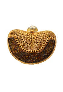 gold-beaded-clutch