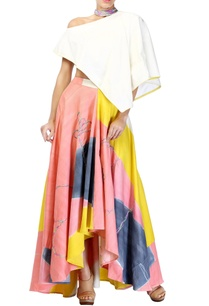 multicolored-skirt-set