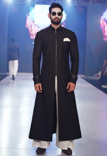 black-long-embroidered-sherwani