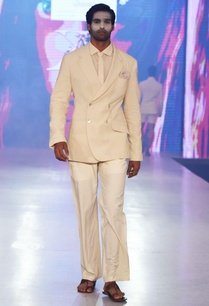 beige-straight-fit-trousers