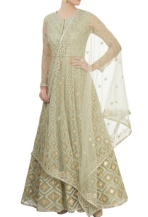 pearl-green-embroidered-anarkali-set